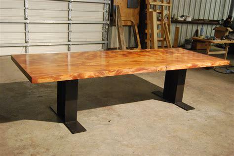 wood tables  slabs odies oil