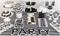 black and white decorations The Best Black and White Party Ideas for New Year's - Play ...
