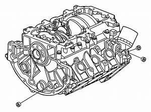 2009 Chrysler Aspen Block  Short  Engine  Torque  Crankshaft