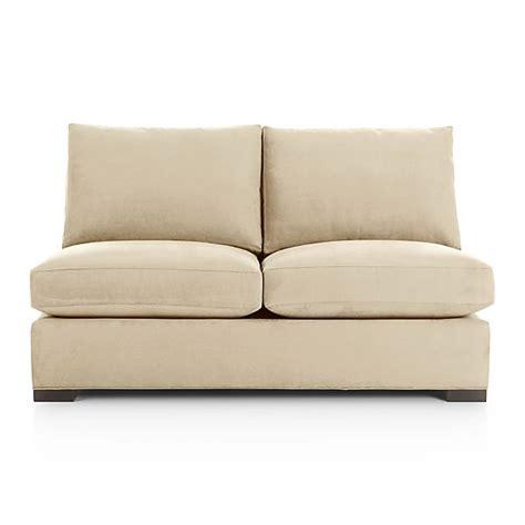Armless Sleeper Sofa by Axis Ii Armless Sleeper Sofa With Air Mattress