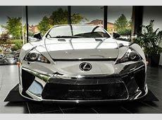 Chrome Wrapped Lexus LFA is For Sale autoevolution