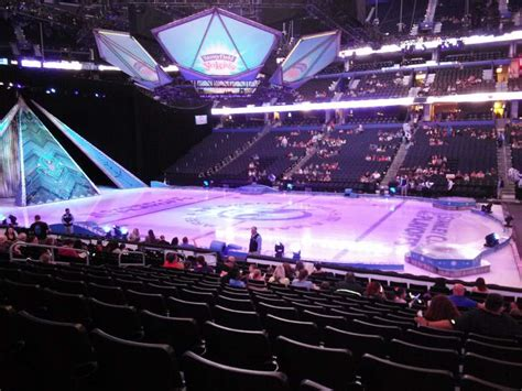 amalie arena section  row  seat  disney  ice