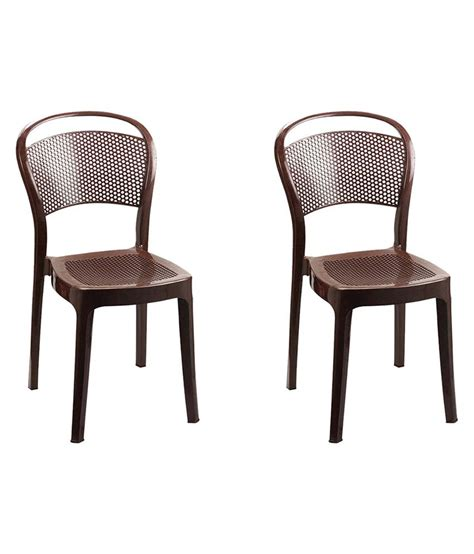 Chair Price by Cello Miracle Dining Chair Set Of 2 Buy Cello Miracle