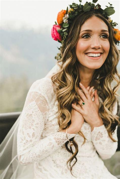 inspirierende boho bridal frisuren ideen zu stehlen
