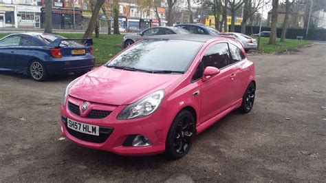 vauxhall pink vauxhall corsa 1 0 2007 full vxr body kit in leicester