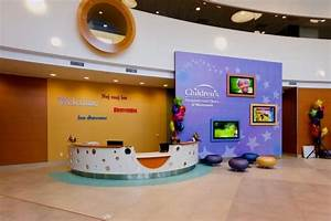 The main reception desk at Children's Hospitals and ...