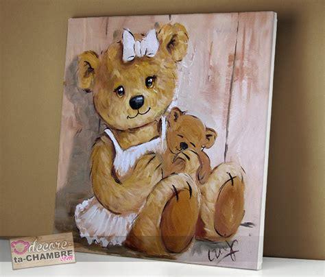 tableau pour chambre bébé fille tableau ourson dor vente tableau ourson pour chambre enfants