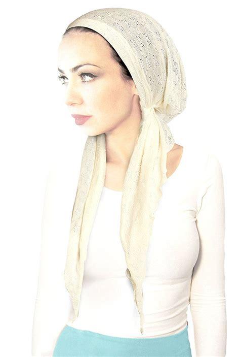 fashionable beanie hair wrap head scarf wear