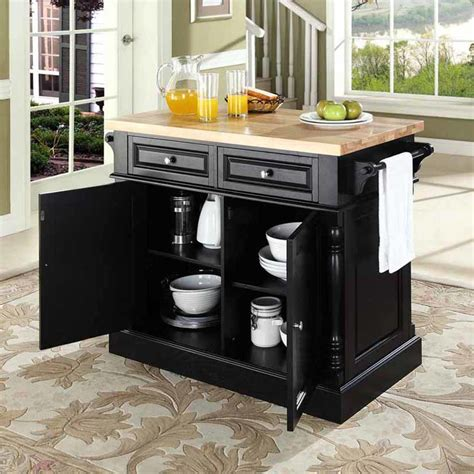 kitchen islands with butcher block top darby home co lewistown kitchen island with butcher block