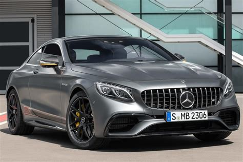 On virtually every possible measure, this is the highest expression of a luxury cabriolet, an automobile only a very fortunate few will ever possess. Mercedes-AMG S63 Yellow Night coupe (2017 facelift, C217) photos