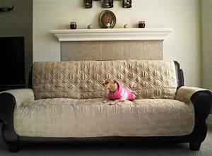 Non slip cover for leather sofa infosofaco for Leather furniture covers for dogs