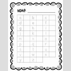 Free Handwriting Assessment For Capital And Lowercase Letters Teacherspayteacherscom
