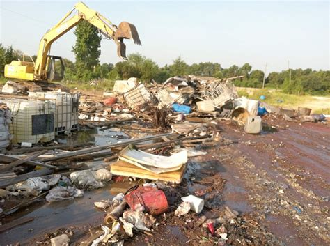 abandonment removal services  waste industries
