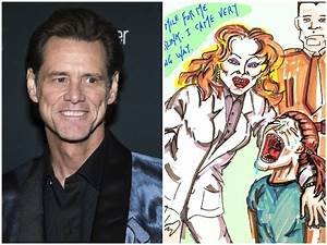 Jim Carrey Draws Melania Trump with 'Federally Abducted ...