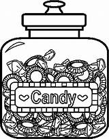 Coloring Candy Pages Printable Sheets Candyland Jars Jar Food Printables Bing Character Land Canopic Lollipops Adults Fruits Coloringpages101 Draw Templates sketch template