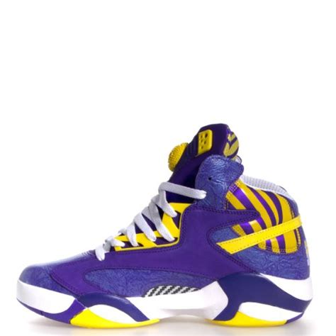 reebok shaq attaq team basketball reebok 39 s shaq attaq basketball shoe team purple blaze