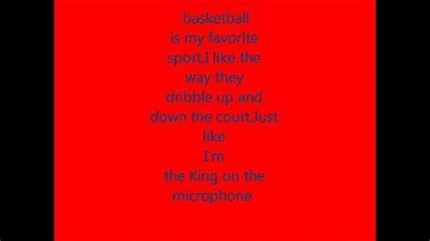 Sport Is My nbdxbrotherhood song lyrics episode 1 basketball is my