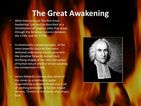great awakening sinners   hands