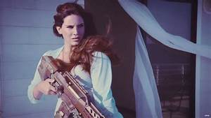 Lana Del Rey Gets Fierce In 'High by the Beach' Music Video
