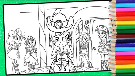 mlp equestria girls colouring page   pony coloring