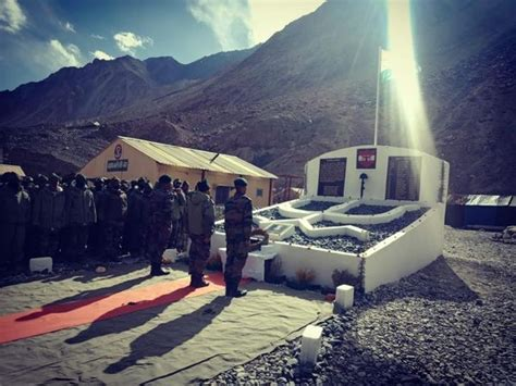 Indian Army builds memorial near Daulat Beg Oldi for our ...