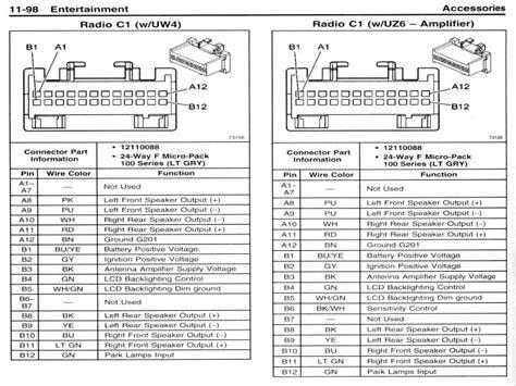 Gmc Car Stereo Wiring Diagram by Gm Radio Wiring Diagram Wiring Forums
