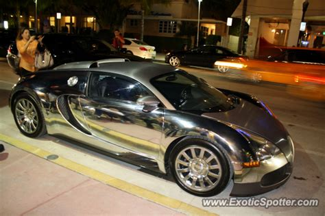 Bugatti Veyron Spotted In Miami, Florida On 12/07/2012