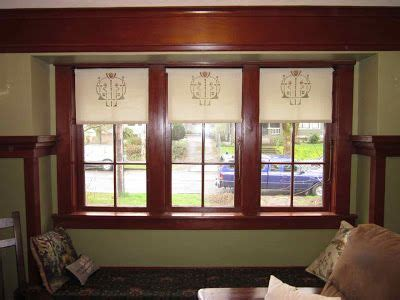 laurelhurst craftsman bungalow window coverings