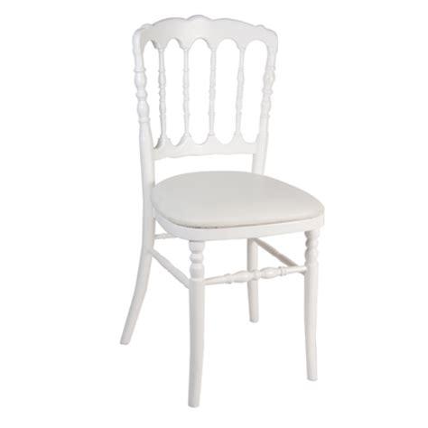 chaise napoleon blanche bienvenue sur le site de souchon réception