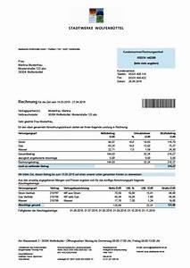 Abrechnung Wasser Und Abwasser : rechnungserkl rung strom gas wasser stadtwerke ~ Themetempest.com Abrechnung