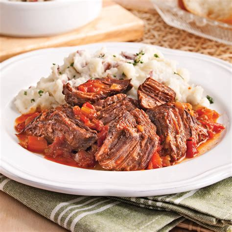 cuisine tv recettes italiennes boeuf braisé à l 39 italienne recettes cuisine et