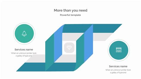 proposition powerpoint template borders design