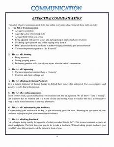 Conclusion effective communication essay