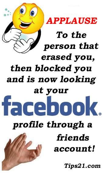 Quotes About Being Blocked On Facebook. QuotesGram