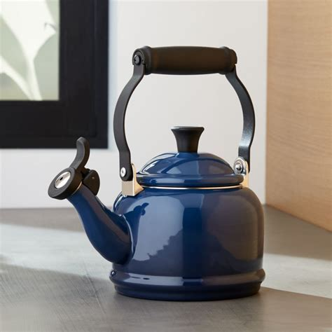 Le Creuset 1.25 Qt. Demi Ink Tea Kettle   Reviews   Crate