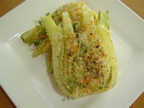 baked fennel recipe food