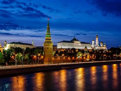 Moscow Kremlin Russian Night Federation Phones Tablet