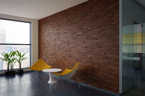 Walnut Wood Paneling Mosaic  Interior Mosaic Wood Wall