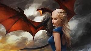 Dragon, Fantasy, Girl, Blonde, Wallpapers, Hd, Desktop, And, Mobile, Backgrounds