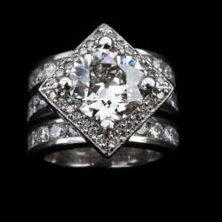 custom engagement ring custom jewelry worthington jewelers