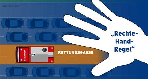 Rettungsgasse Neue Regel by Rettungsgasse Richtig Bilden Landeswelle Th 252 Ringen