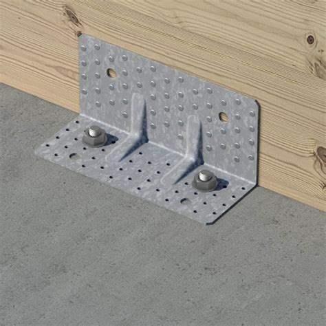 Beton Mit Beton Verbinden by Reinforced Angle Brackets For Clt Strong Tie