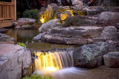 Aquascape Lighting by Pond Lighting Garden Lighting Create Magic At
