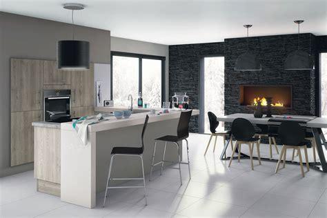 meuble pour separer cuisine salon idées pour délimiter la cuisine ouverte sur le salon