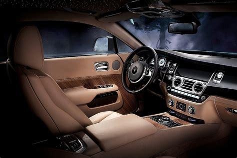 2014 Rolls-royce Wraith Coupe Interior