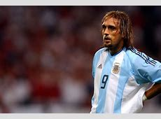 Gabriel Batistuta has difficulty walking after retiring