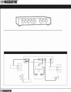 Magnadyne Home Theater System Vcs