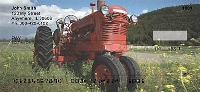 Tractor Tractors Checks Personal Scenic 123cheapchecks
