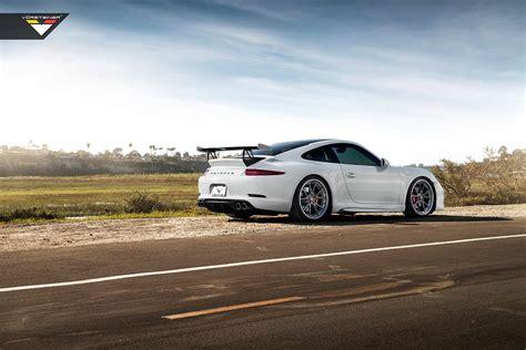 Stunning White Vorsteiner V Gt Porsche 991 Carrera S