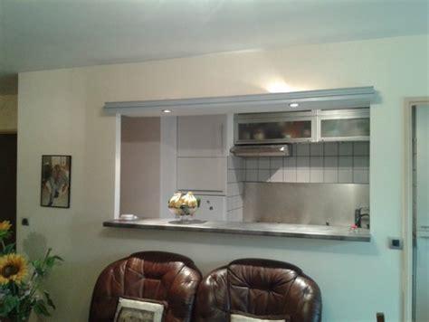 ouvrir une cuisine cloison cuisine séjour